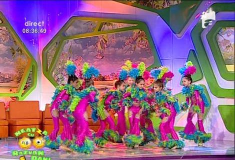 Vezi cum danseaza copiii de la Bucharest Sport Club!