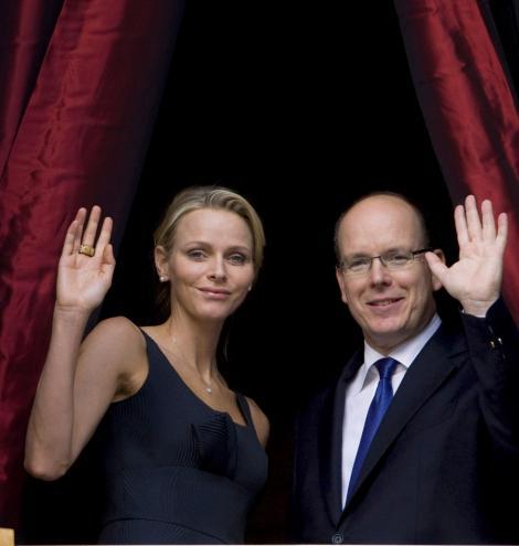 Nunta Printul Albert de Monaco, transmisa in format 3D