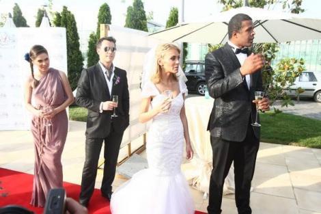 FOTO! Cabral si Andreea Patrascu s-au casatorit!