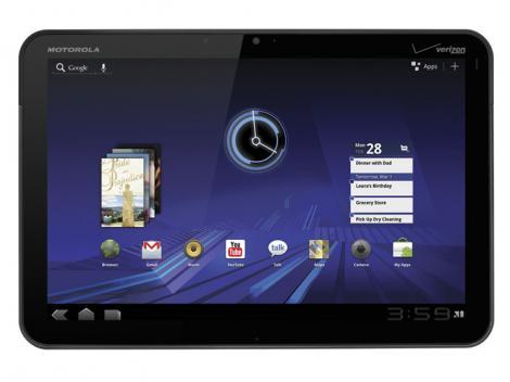 Motorola Xoom - Filme, socializare, jocuri