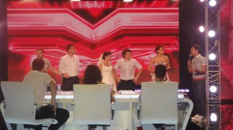 Mireasa furata si adusa pe scena X Factor