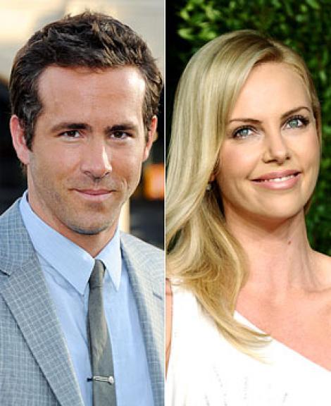 Ryan Reynolds si Charlize Theron, cel mai nou cuplu de la Hollywood!