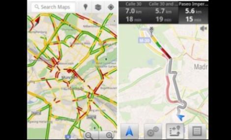Nou serviciu Google: Informatii in timp real din traficul european