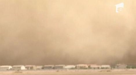 VIDEO! Furtuna de nisip in Phoenix