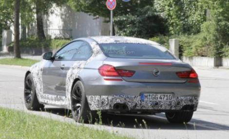 FOTO-Spion: BMW M6 2012 - Rechinul suparat