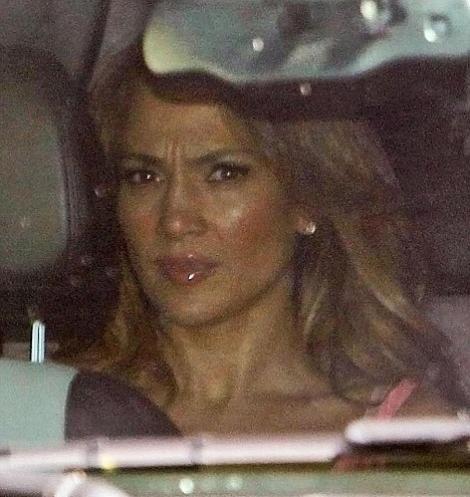 FOTO! Jennifer Lopez ravasita - prima poza de la anuntul divortului
