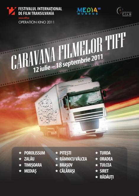 Caravana Filmelor TIFF vine la Pitesti!