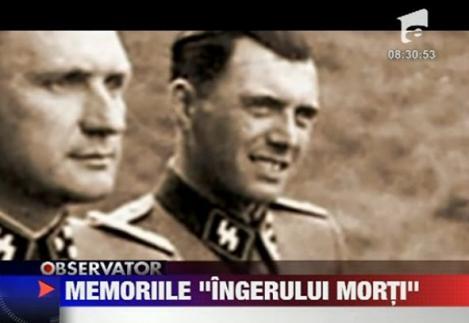 """VIDEO! Memoriile """"Ingerului Mortii"""", Josef Mengele, scoase la licitatie"""