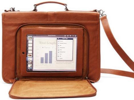 Versetta - geanta clasica de piele pentru iPad-ul tau