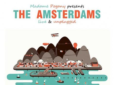 The Amsterdams, intr-un super concert in Capitala