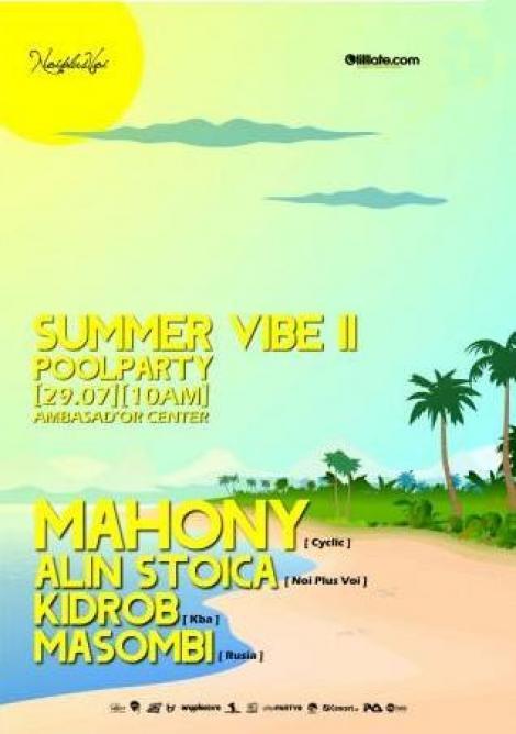 Racoreste-te la Summer Vibe Pool Party!