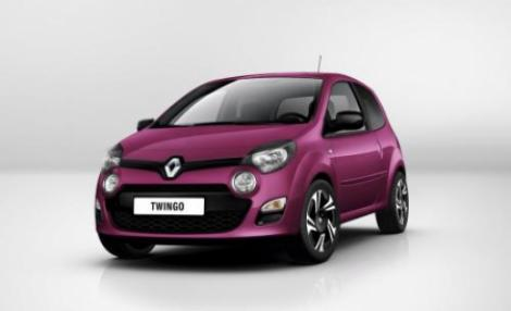 FOTO! Renault Twingo facelift - imagini oficiale