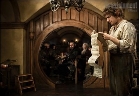 "FOTO! Vezi primele imagini din filmul ""The Hobbit""!"