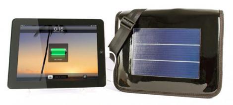 Mini L Solarbag - geanta solara care iti incarca iPad-ul