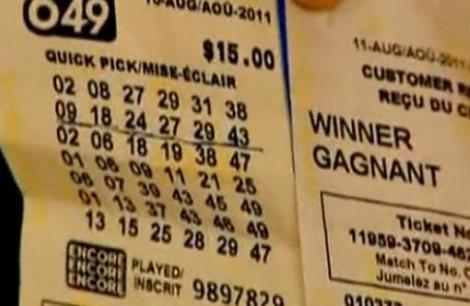 Au castigat la loterie, dupa ce au aflat ca au fost concediati