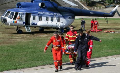 Heliportul Spitalului Judetean Constanta, refacut de militarii SUA