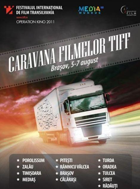 Caravana Filmelor TIFF 2011 va ajunge in Brasov