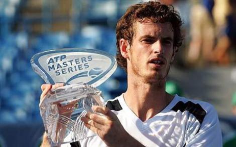 Andy Murray a castigat turneul de la Cincinnati, dupa abandonul lui Novak Djokovic