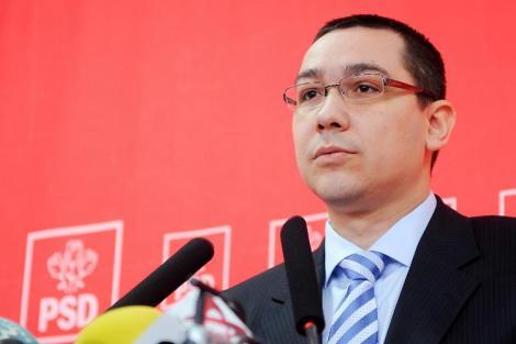 Victor Ponta neaga sponsorizarile de la Gold Corporation si ii cere lui Basescu sa vina cu probe