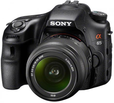 Alpha A65 - cel mai nou aparat foto entry level DSLR de la Sony