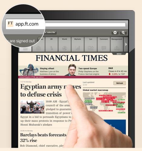 Publicatia Financial Times si-a retras aplicatiile din App Store