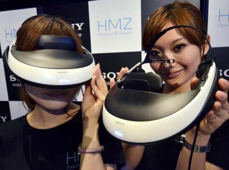 Sony HMZ-T1: cinematograf personal 3D asezat pe proprii ochi!