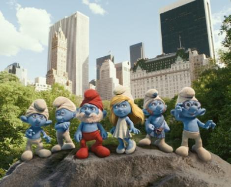 """A1.ro iti recomanda azi filmul """"The Smurfs - Strumpfii - 3D"""""""