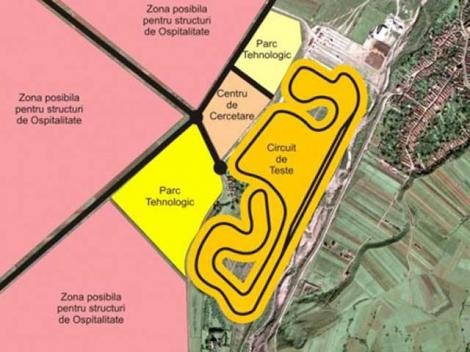 Transilvania Motorland: Circuit de Formula 1, la Tarlungeni?