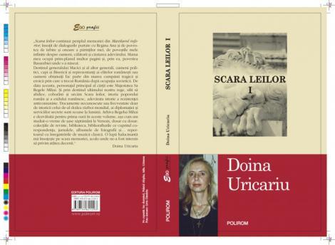 """Volumul """"Scara leilor"""", de Doina Uricariu, va fi lansat in librarii astazi"""