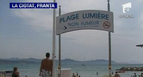 VIDEO! In Franta s-a inaugurat prima plaja unde fumatul e interzis