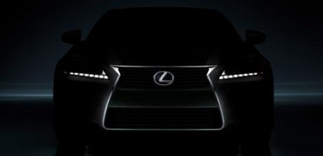 Vezi prima poza cu noul Lexus GS!