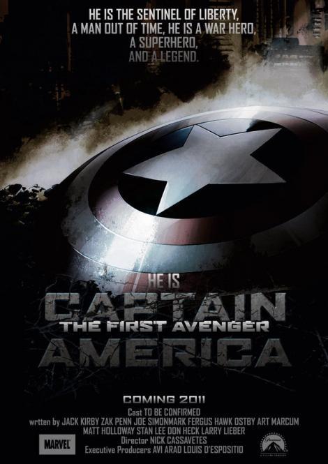 """A1.ro va recomanda azi filmul e actiune """"Captain America: The First Avenger"""""""
