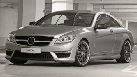 FOTO! VATH prezinta propriul Mercedes-Benz CL63 AMG