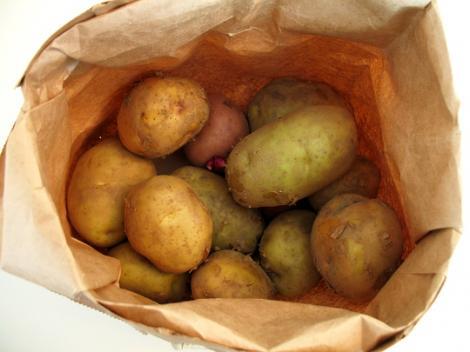 Studiu: Dieta cu cartofi te scapa de kilogramele in plus