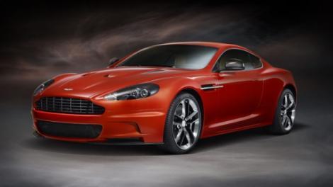 FOTO! Aston Martin il pregateste pentru Frankfurt pe DBS Carbon Edition