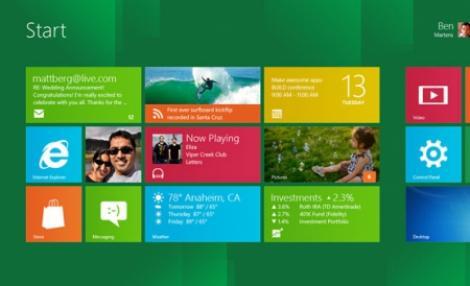 FOTO& VIDEO! Vezi cum arata Windows 8, noul sistem de operare de la Microsoft!