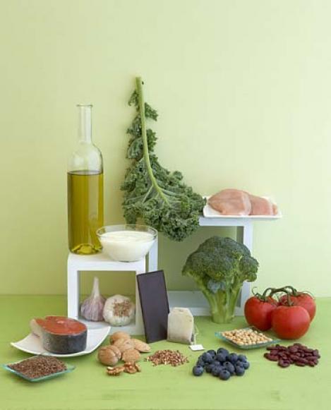 Cheia unei vieti sanatoase - alimentele bogate in antioxidanti!