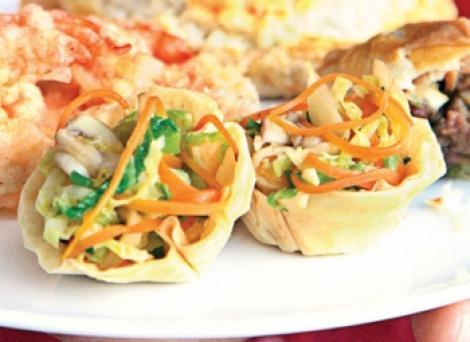Reteta zilei: Galuste umplute cu legume