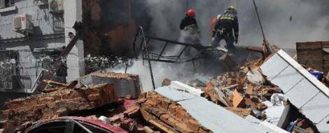 Explozie in Amsterdam. Cladirea unui tribunal din centrul financiar, grav afectata