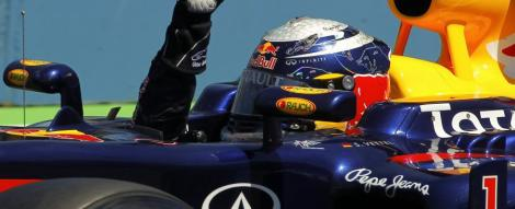 MP Singapore: Sebastian Vettel, din nou in pole-position