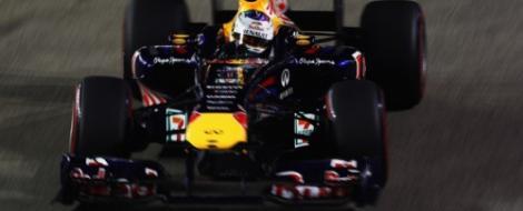 F1: Sebastian Vettel, la un punct de titlu dupa succesul de la Singapore