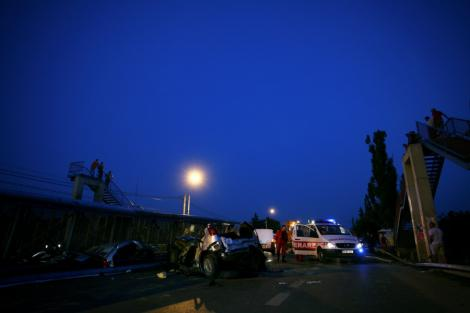 VIDEO! Un politist sucevean, aflat in misiune, a murit intr-un accident rutier