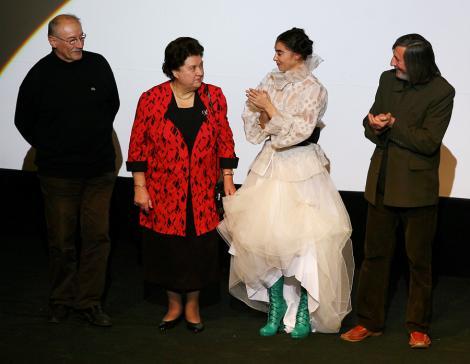 VIDEO! Tamara Buciuceanu Botez a primit o stea pe Aleea Celebritatilor
