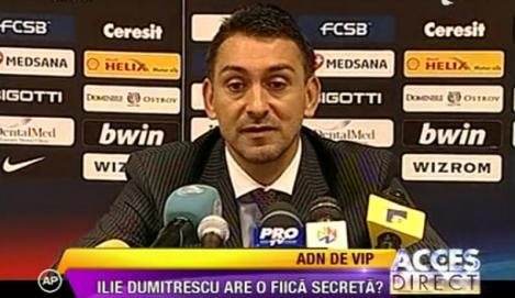 VIDEO! Si Ilie Dumitrescu are un COPIL SECRET!