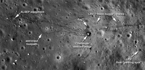 FOTO&VIDEO! Vezi primii pasi ai omului pe luna dupa 40 de ani!