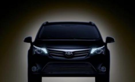 FOTO-Teaser: Toyota Avensis facelift