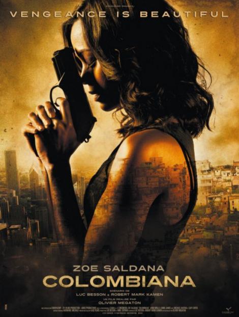 """""""Columbiana"""" are premiera in cinematografe"""