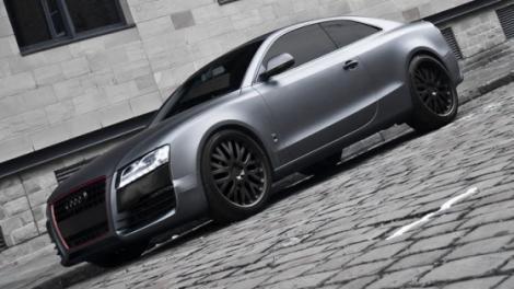 FOTO! Audi A5, inspirat de R8