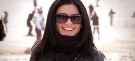 Ellie White, accident grav in aceasta dimineata pe partia de schi din Vatra Dornei!