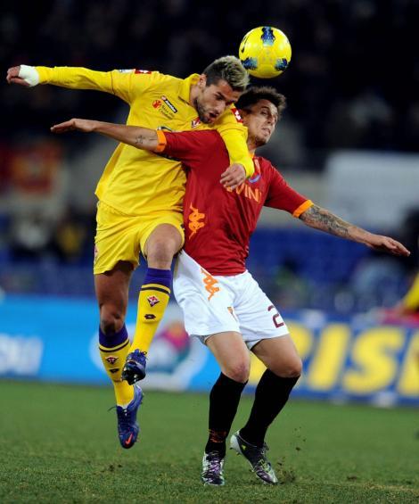 AS Roma – Fiorentina 3-0 / Echipa lui Luis Enrique e in sferturi
